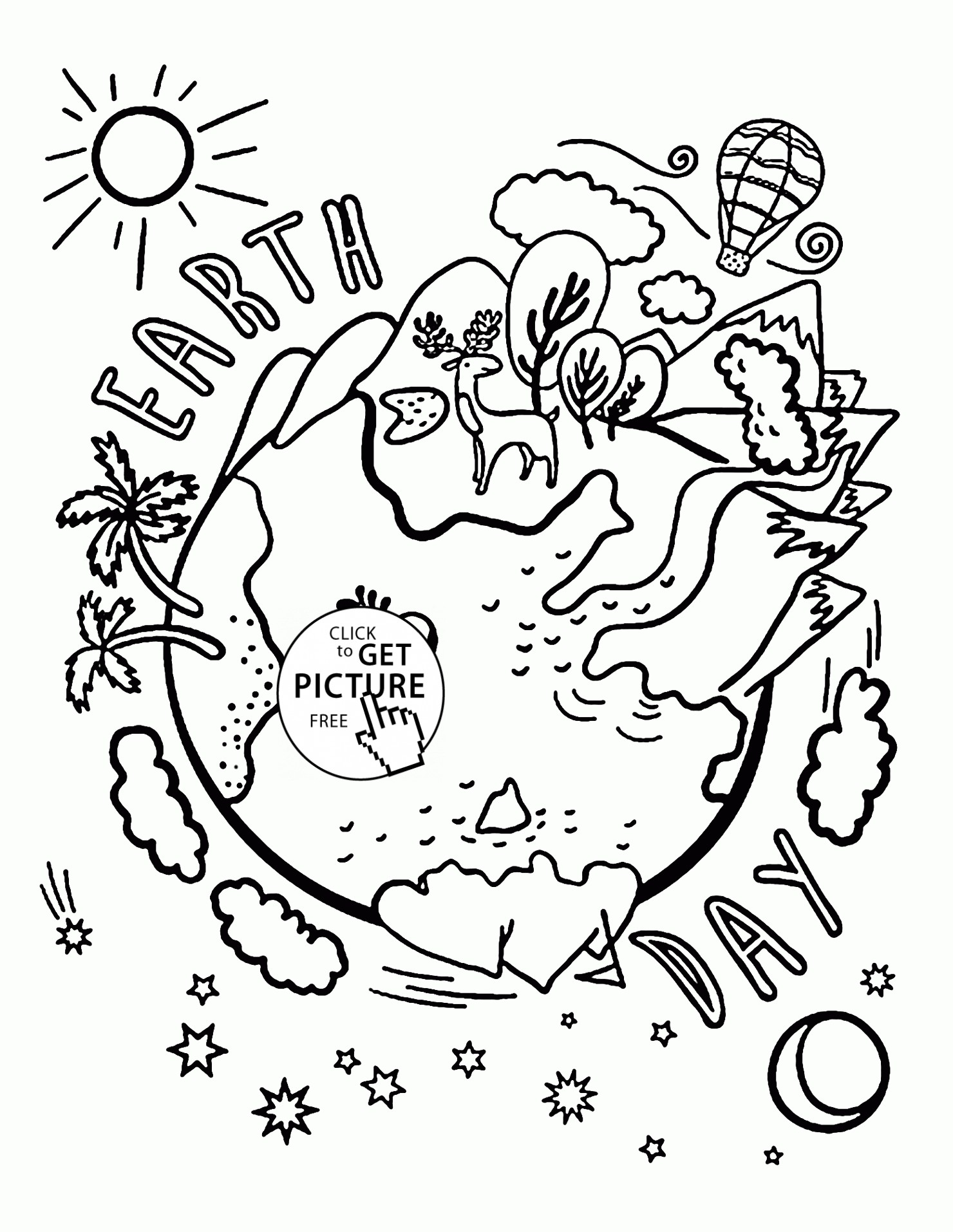 Earth Day Drawing Contest At Getdrawings