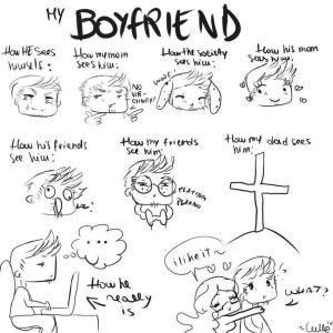 boyfriend easy drawing doodle him draw something getdrawings drawings deviantart anime random