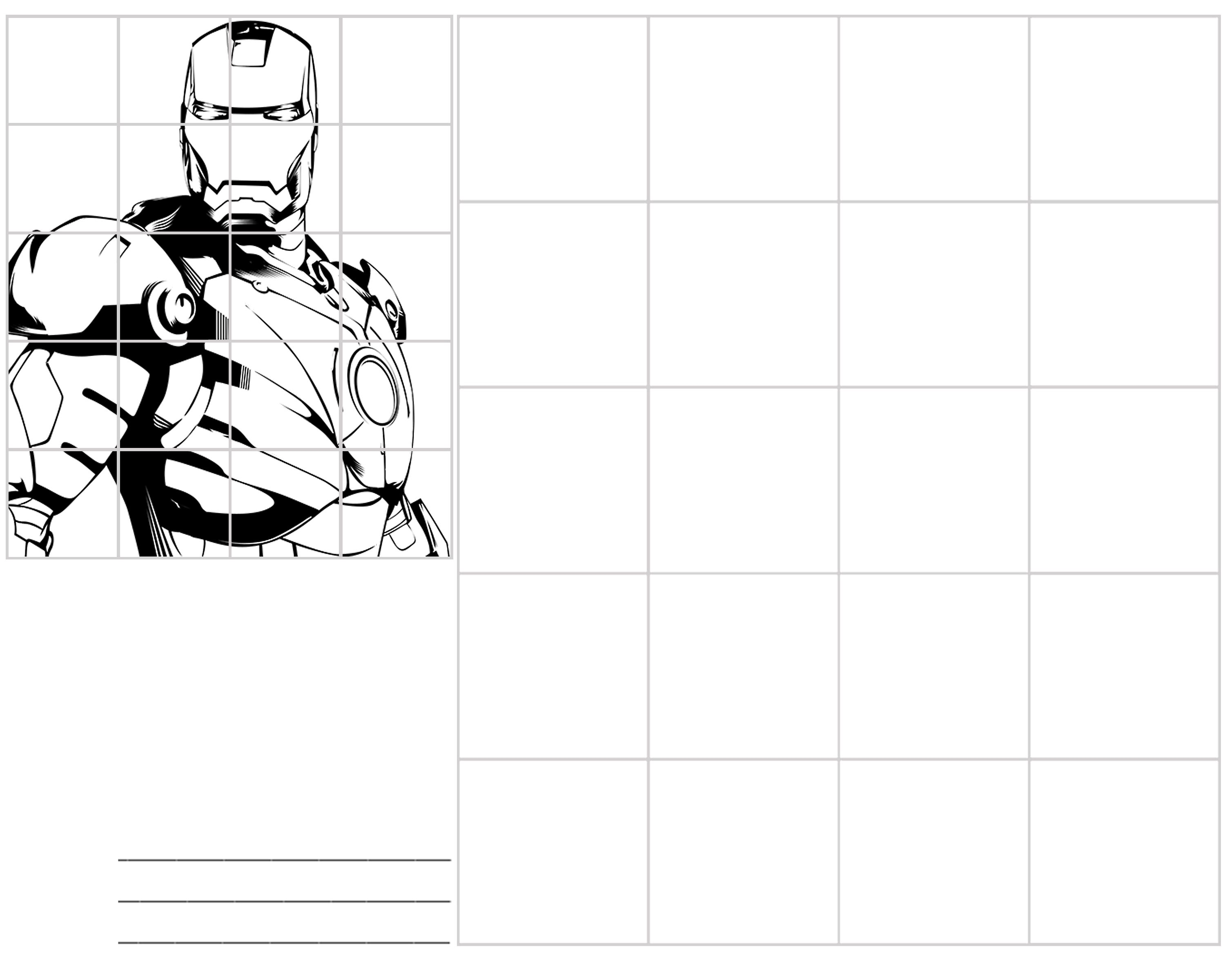Easy Grid Drawing Worksheets At Getdrawings