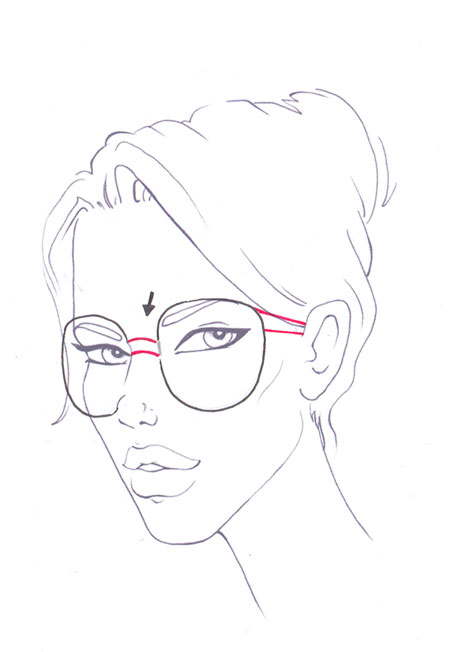 Sunglasses Drawing Easy : sunglasses, drawing, Glasses, Drawing, GetDrawings, Download