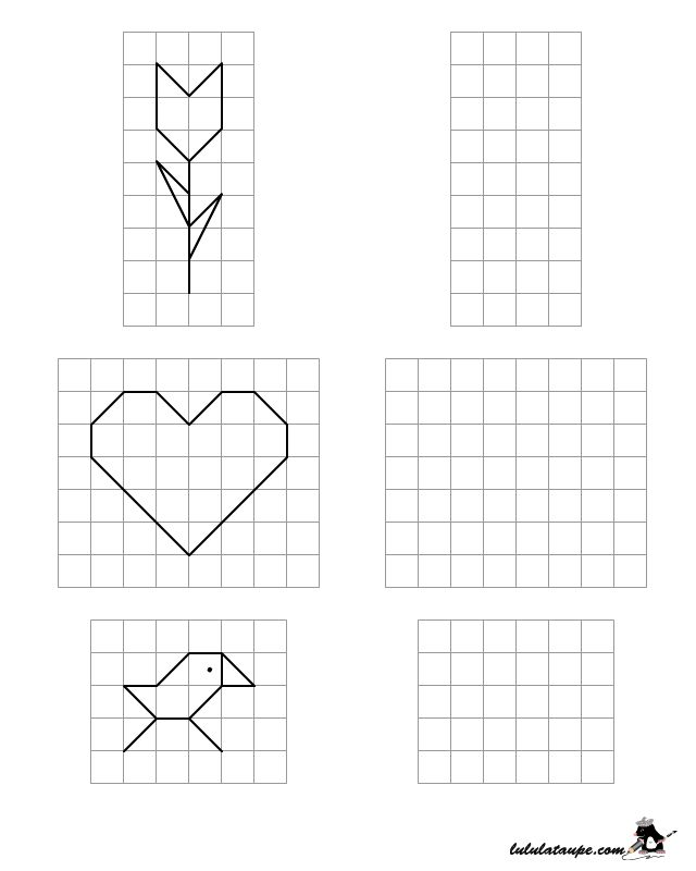 Grid Drawing Worksheets For High School at GetDrawings