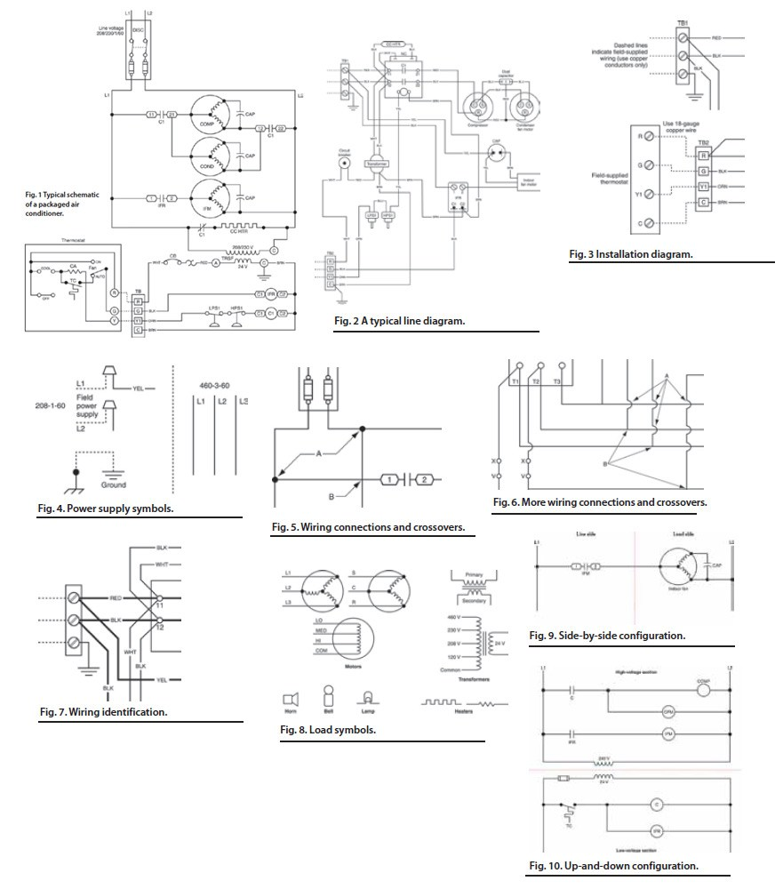 hight resolution of 881x1000 hvac electrical wiring diagram symbols free download wiring