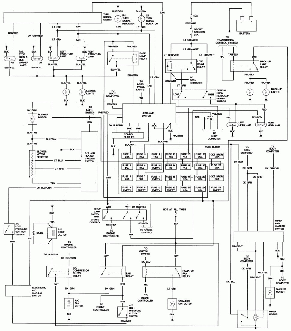 basic automotive wiring diagram symbols 6 pin trailer connector 36 volt club car light database hvac drawing legend at getdrawings free for personal