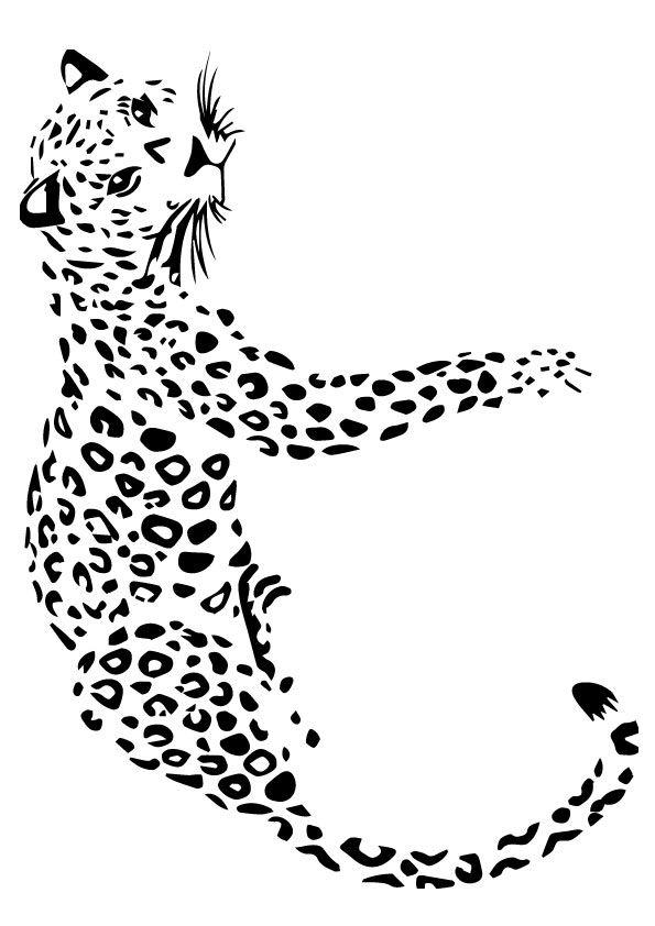 36 Leopard Zum Ausmalen - Besten Bilder von ausmalbilder