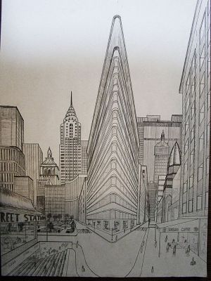 drawing perspective york point vanishing ny double eye deviantart easy sketches birds techniques drawings buildings getdrawings building croquis definition illustration