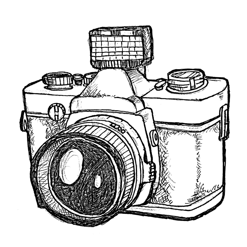 Photographer With Camera Drawing Png at GetDrawings.com
