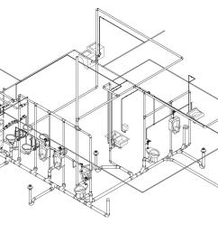 4209x2583 collection of plumbing plan drawing 3d high quality free [ 4209 x 2583 Pixel ]