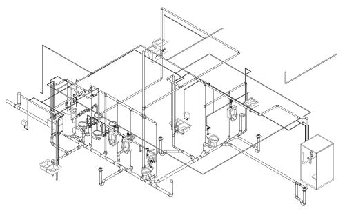 small resolution of 4209x2583 collection of plumbing plan drawing 3d high quality free
