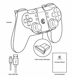 1000x1000 gamesir t1s gamepad with remapper a2 for ps3 controller bluetooth [ 1000 x 1000 Pixel ]