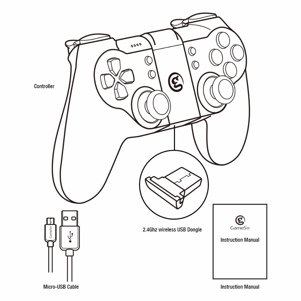 hight resolution of 1000x1000 gamesir t1s gamepad with remapper a2 for ps3 controller bluetooth