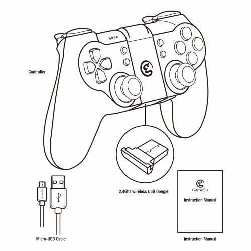 small resolution of 1000x1000 gamesir t1s gamepad with remapper a2 for ps3 controller bluetooth