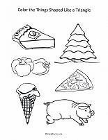shapes simple using teaching drawing triangle shape draw four getdrawings th