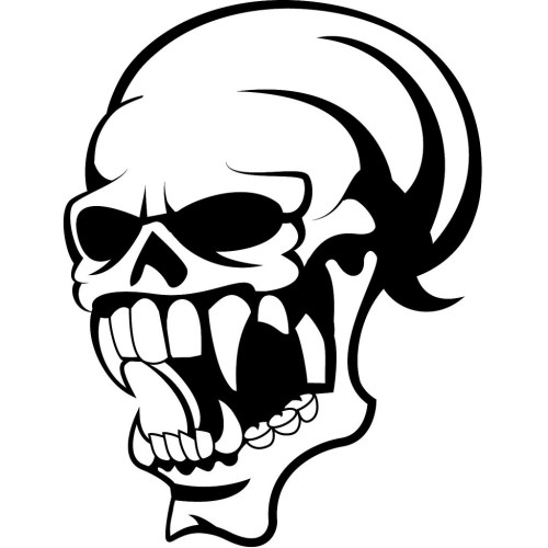 small resolution of 1024x1024 skull with big teeth if you want to use this image free