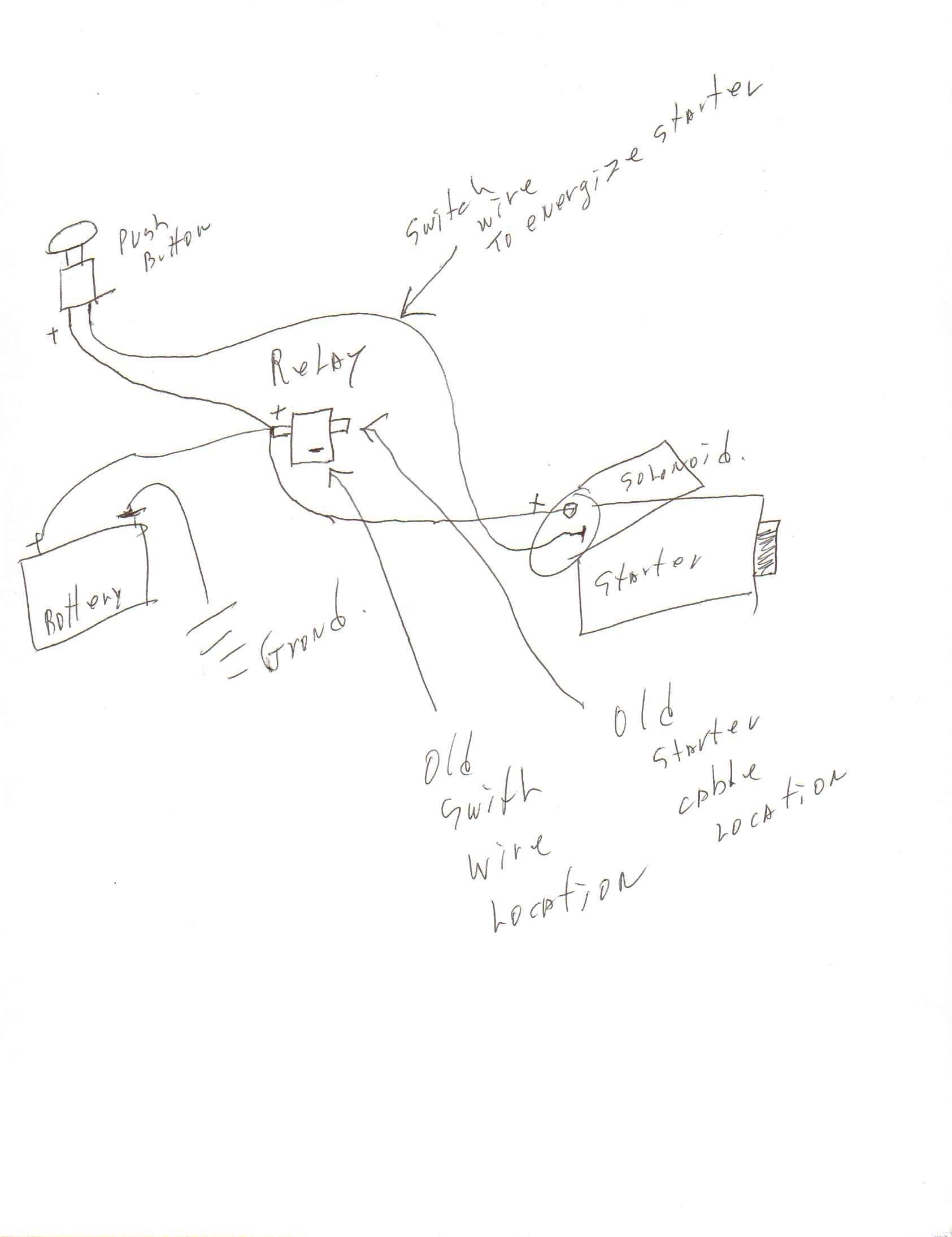 Sel Starter Motor Wiring Diagram