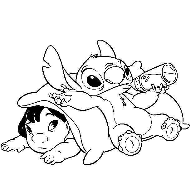 Stitch Drawing Ohana At Getdrawings Com