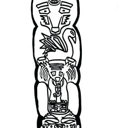 1700x2338 totem pole coloring pages displaying images for totem totem pole [ 1700 x 2338 Pixel ]
