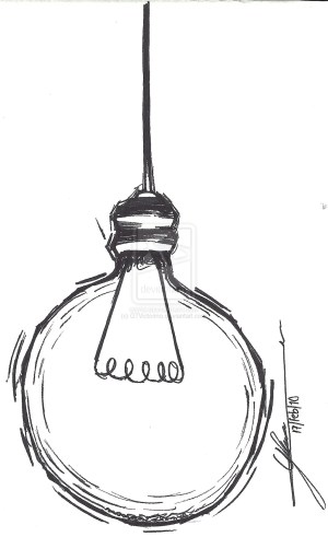 drawing bulb easy lamps drawings simple line lighting lightbulb sketch tattoo pencil step clipart lamp sketches clip tips getdrawings pen