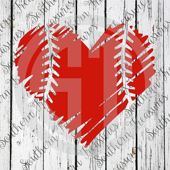 Download Baseball Heart Vector at GetDrawings   Free download