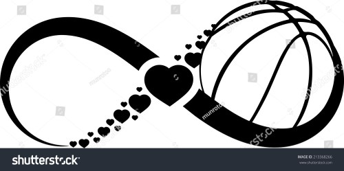 small resolution of 1500x747 collection of heart shaped basketball clipart black and white