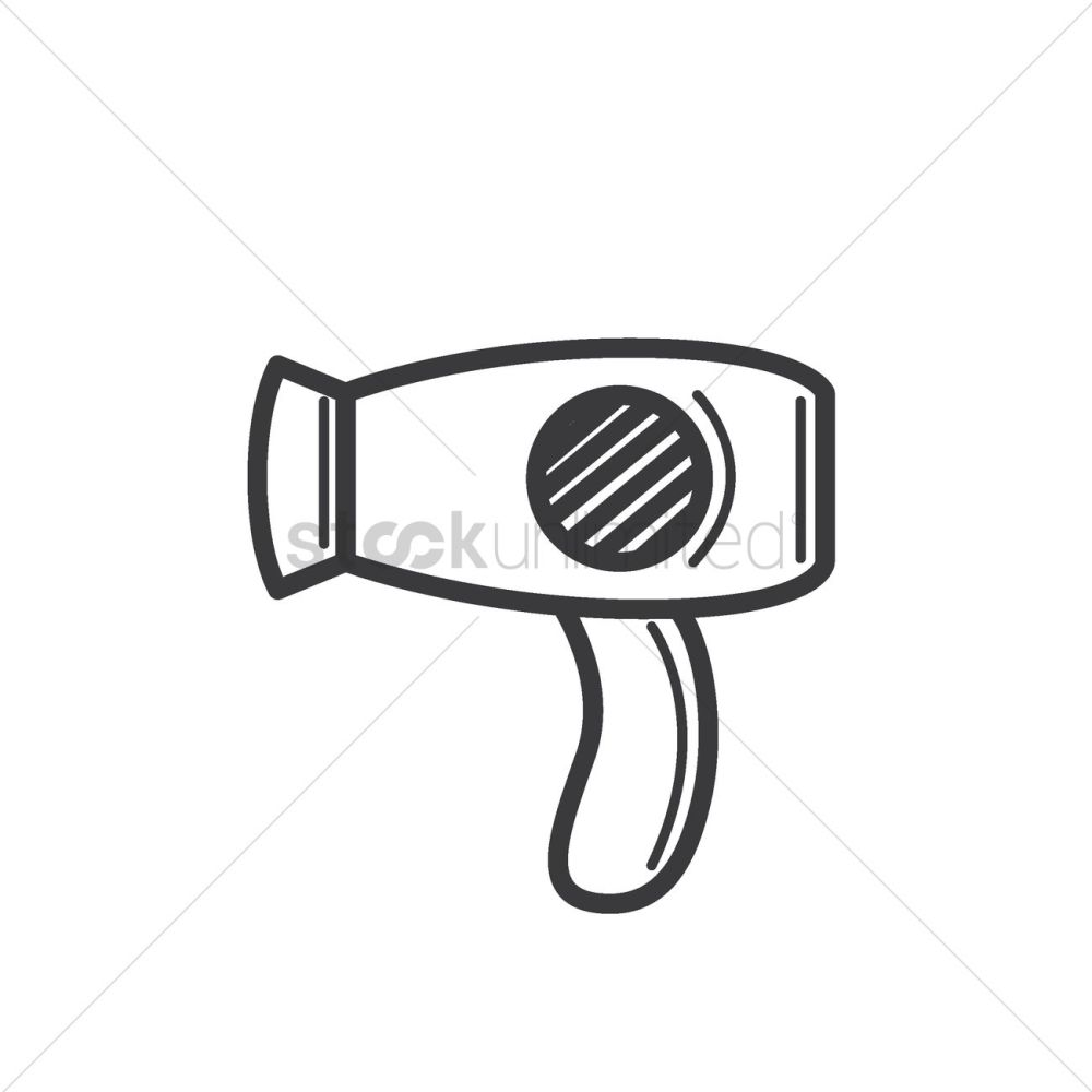 medium resolution of 1300x1300 free hair dryer vector image