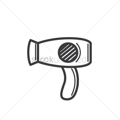 small resolution of 1300x1300 free hair dryer vector image
