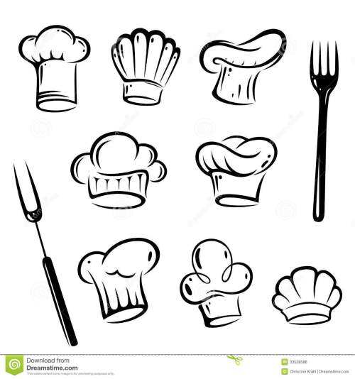 small resolution of chef hat vector free