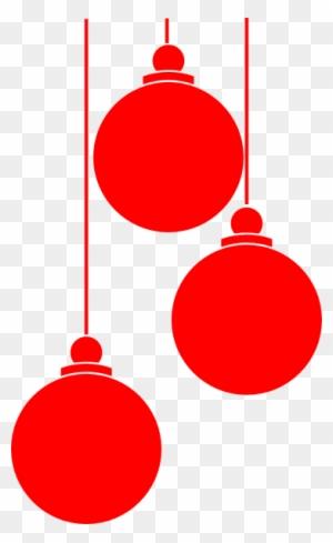 Transparent Christmas Ornaments Vector
