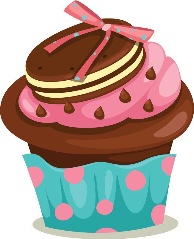 Cupcake Vector Png At Getdrawingscom Free For Personal Use