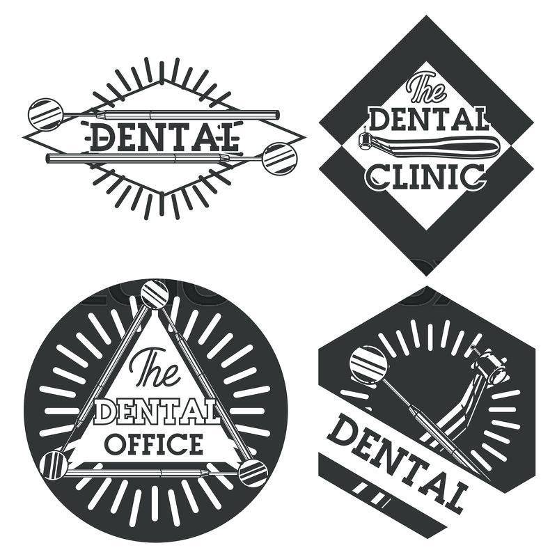 dentistry symbol vector at