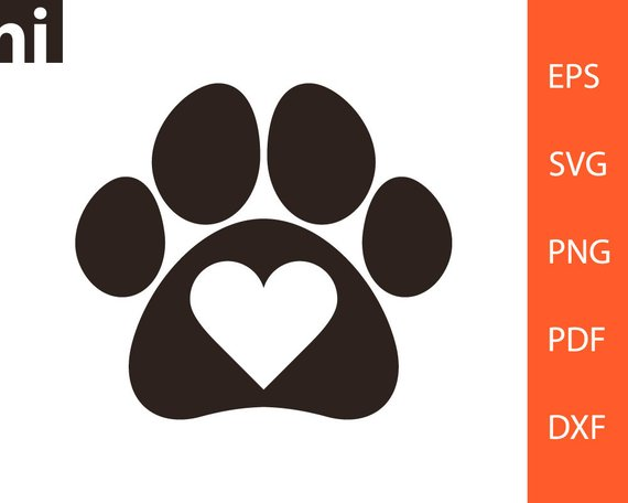 Download Dog Paw Vector at GetDrawings | Free download