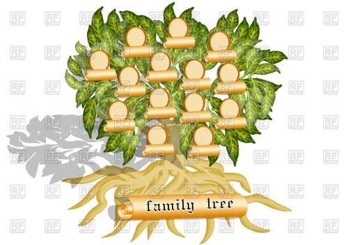 small resolution of 1200x849 family tree vector image vector artwork of design elements