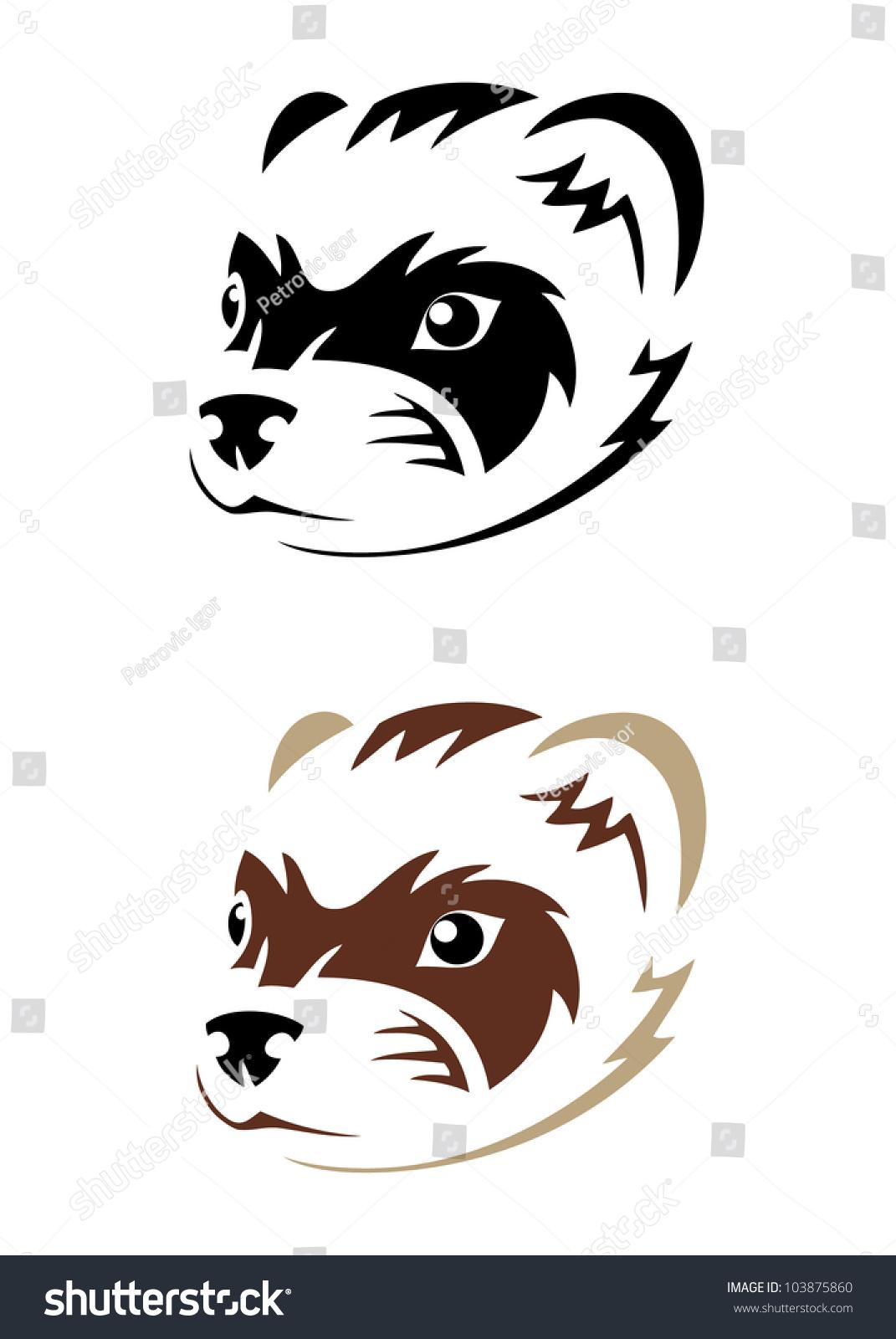 hight resolution of 1071x1600 ferret clipart bulldog