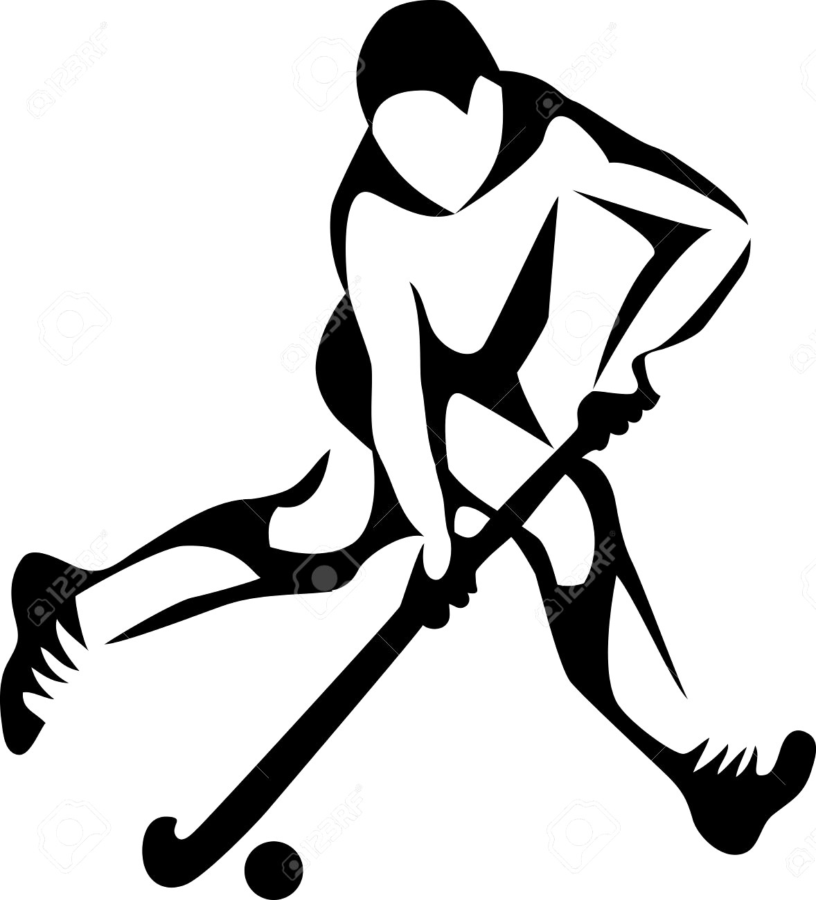 hight resolution of 1178x1300 field hockey player royalty free cliparts vectors and stock best