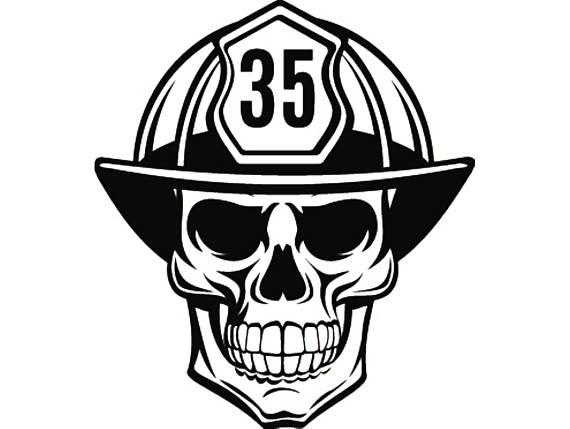 firefighter helmet vector at