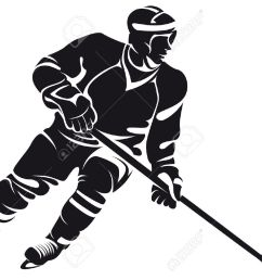 1300x936 collection of hockey player clipart black and white high [ 1300 x 936 Pixel ]