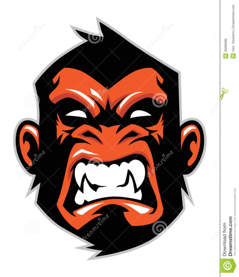 medium resolution of 1121x1300 chimpanzee clipart gorilla face