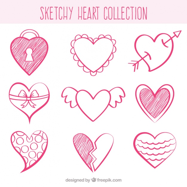 heart vector free download