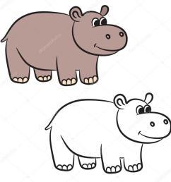 900x900 download hippo vector clipart hippopotamus royalty free [ 900 x 900 Pixel ]