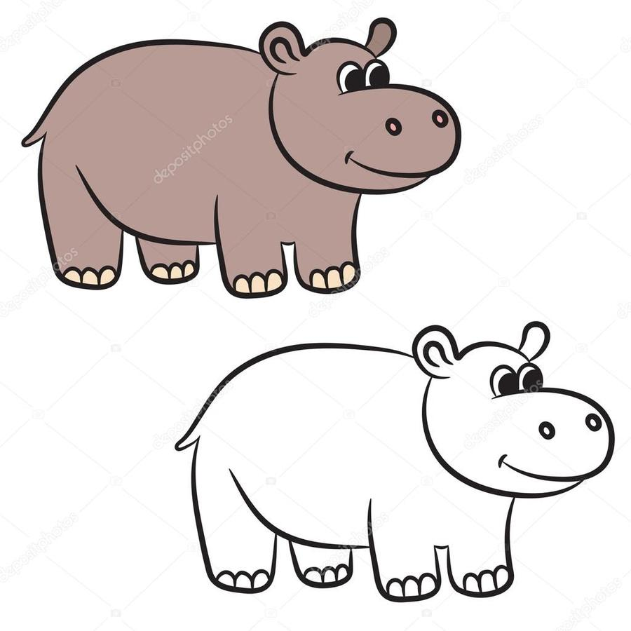 hight resolution of 900x900 download hippo vector clipart hippopotamus royalty free