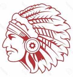 1560x1560 photostock vector retro indian chief headdress tattoo isolated on [ 1560 x 1560 Pixel ]