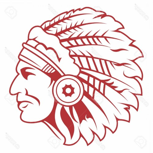 small resolution of 1560x1560 photostock vector retro indian chief headdress tattoo isolated on