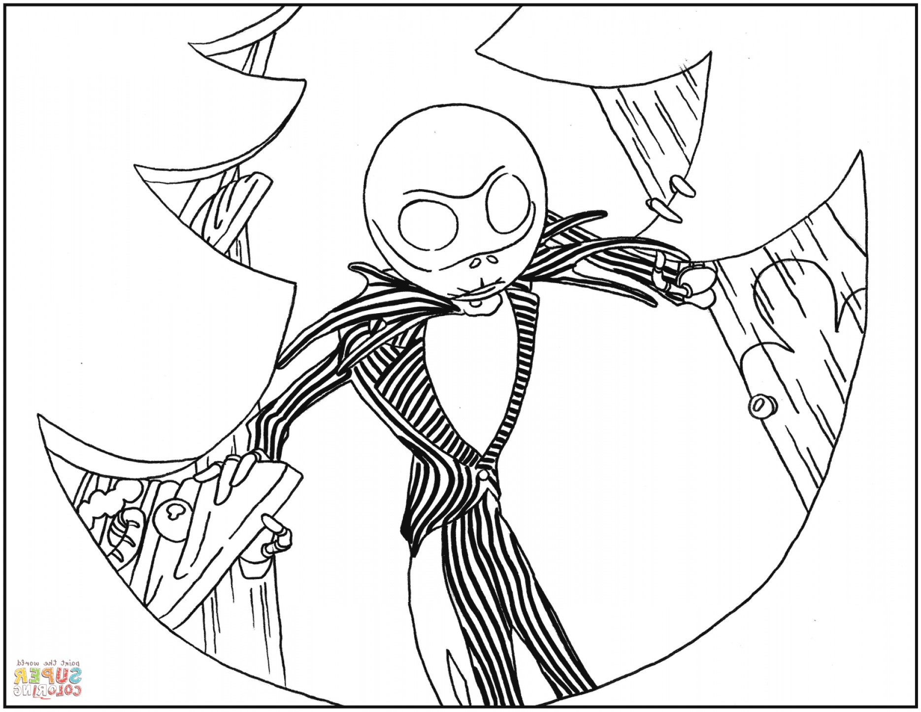 Jack Skellington Vector Art At Getdrawings