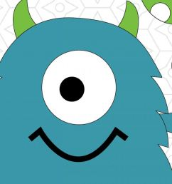 1200x800 birthday monster vector design svg dxf and ai vector files for [ 1200 x 800 Pixel ]