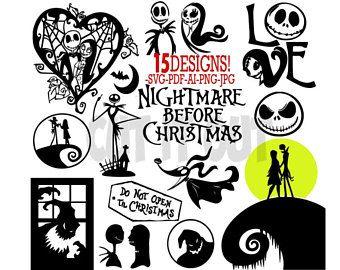 Download Nightmare Before Christmas Vector at GetDrawings | Free ...