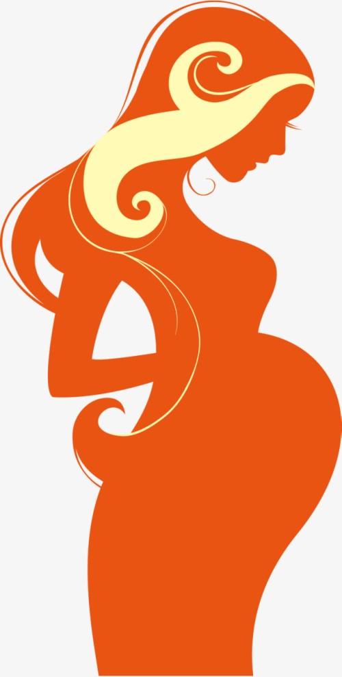 small resolution of 650x1286 orange pregnant women pregnant clipart vector pregnant woman