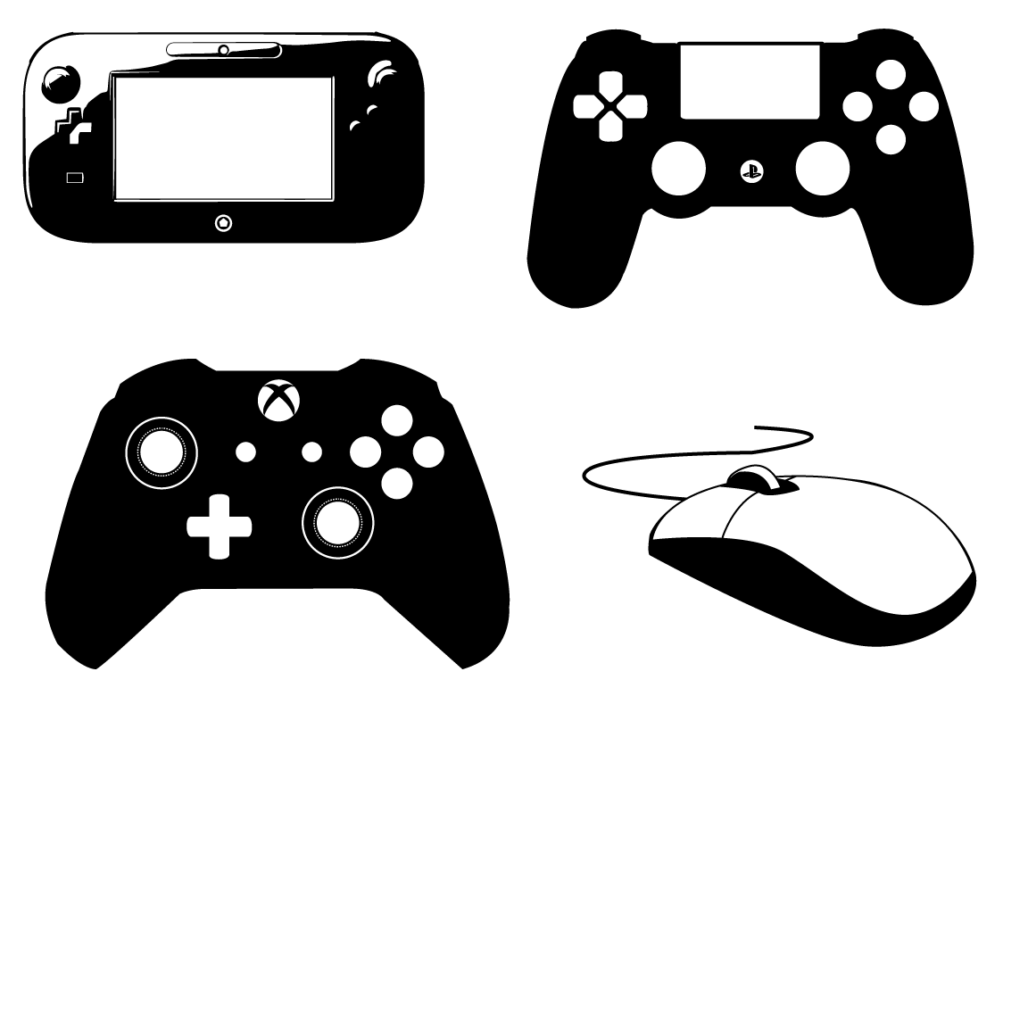 Ps4 Controller Vector At Getdrawings