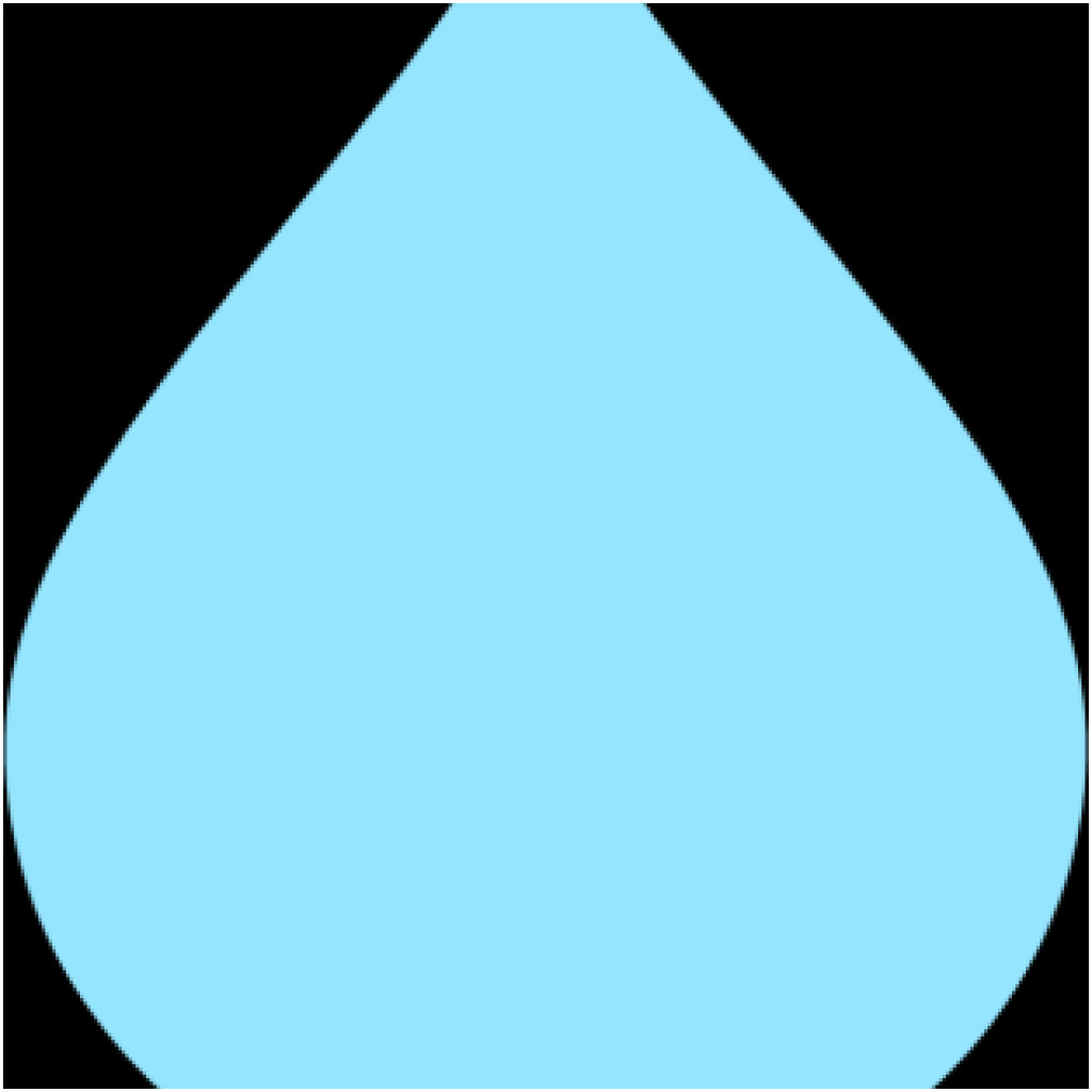 hight resolution of 1024x1024 raindrop vector free