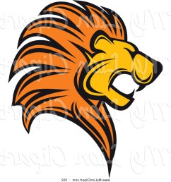1228x1252 clipart of a roaring lion logo by vector tradition sm sohadacouri [ 1228 x 1252 Pixel ]