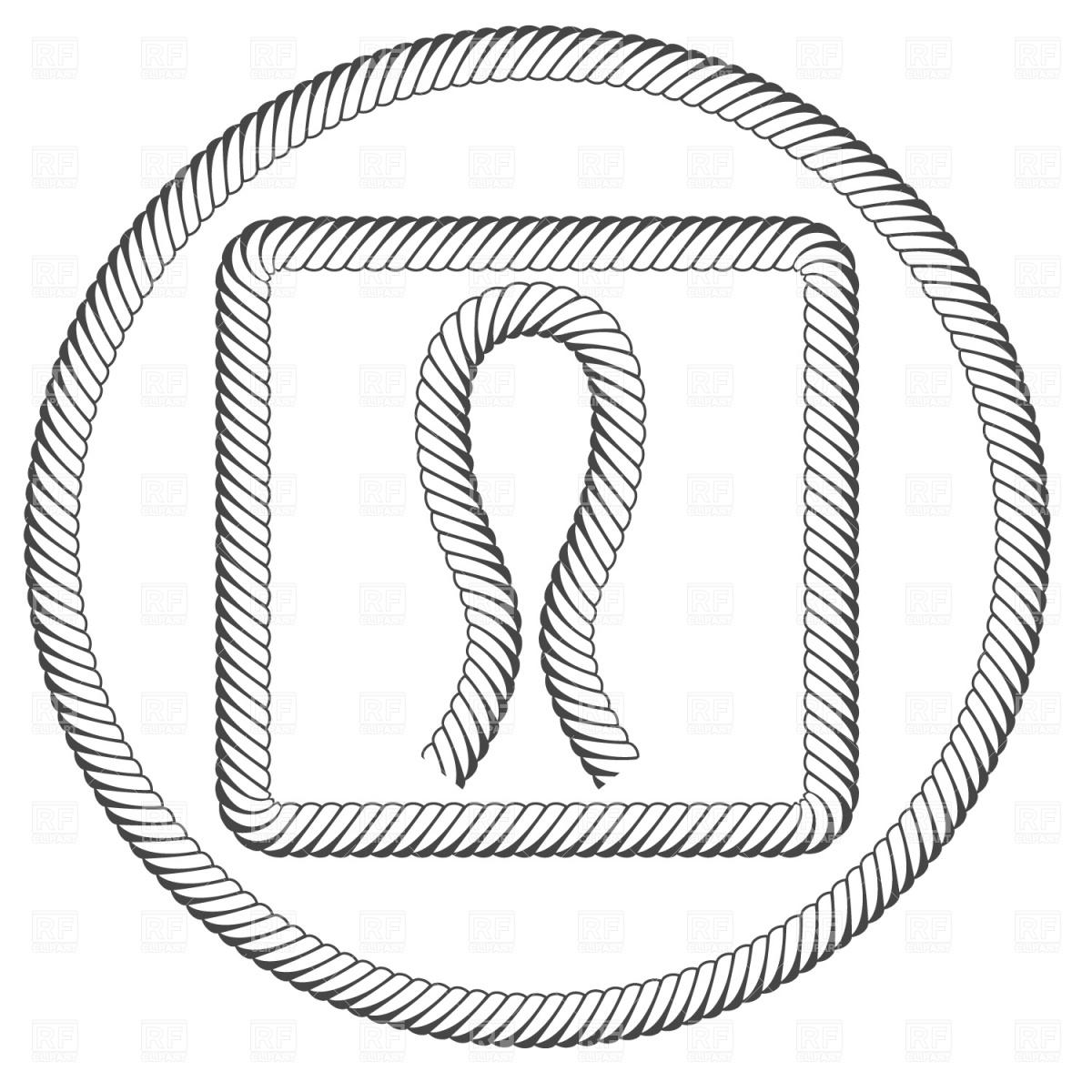 Rope Circle Vector At Getdrawings