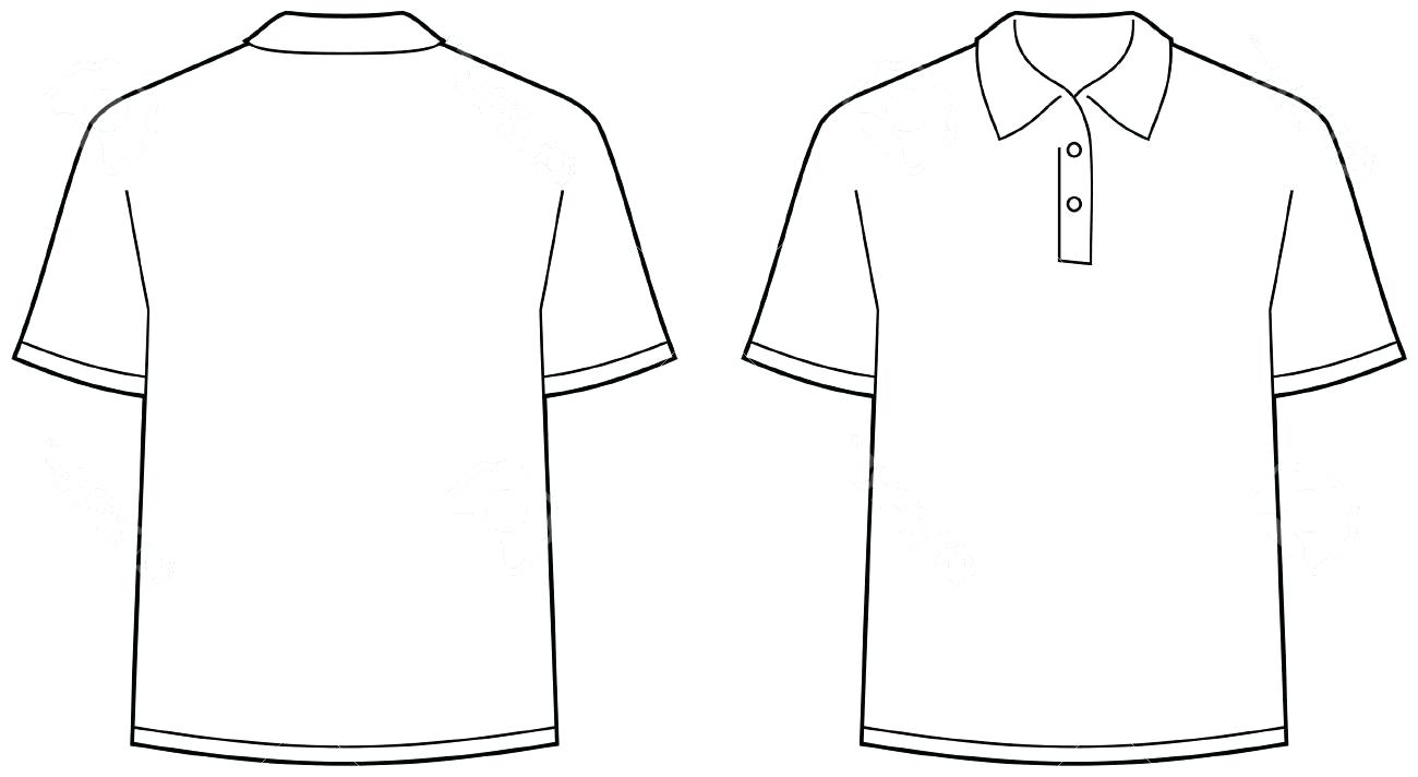 T Shirt Template Vector Free Download at GetDrawings.com